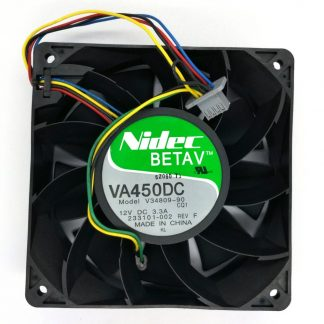 Original Nidec VA450DC V34809-90 12CM 12V 3.3A violence mining machine Computer Server cooling fan