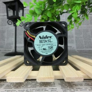 NIDEC 60*60*25mm DC 12V 0.3A 6cm D06T-12P3S2 AJ 3 Lines Ball Large Wind Cooling Fan