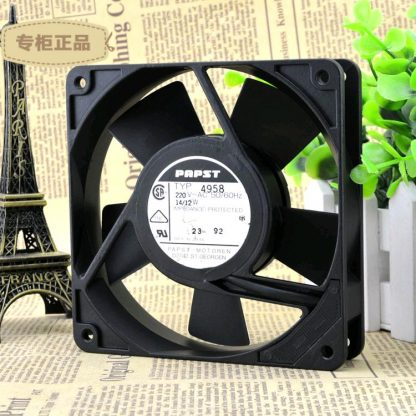 Free Delivery. 12 cm TYP4958 125 14/12 2 v w double ball bearing fan