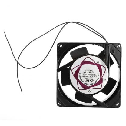 Sleeve Bearing ABS and Metal 50/60 (Hz) 220-240V AC 2-Wire Cooling Fan Cooler Radiator, Cooler AC Cooling Fan For Computer