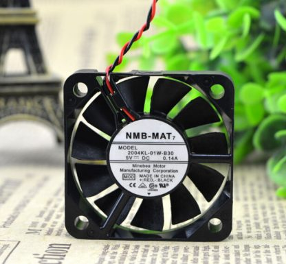 The original NMB 04KL-01W-B30 50*50*10 5CM 5V 0.14A 5 cm 2 line cooling fan