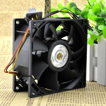 Free Delivery. 9038 FFB0912EHE DC12V 1.5 A pressurized violence Double ball bearing fan