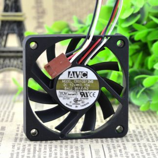 Wholesale: the original AVC C6010B12H 60*60*10 12V 0.1A 0.15A 3 pin cooling fan
