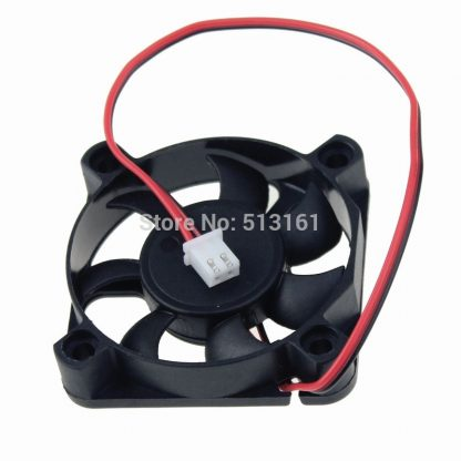 10pcs/lot Gdstime 2Pin 5cm Brushless Cooling Fan 50x50x10mm 12V DC Cooler 50mm