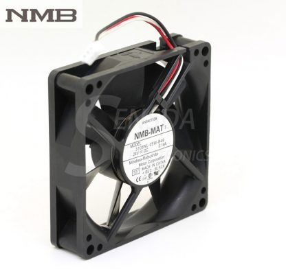 original NMB 3108NL-05W-B49 8020 8CM 24V 0.14A three line 3-pin alarm inverter axial cooling fans