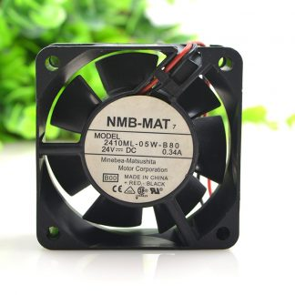 New original 2410ML-05W-B80 24V 0.34A 6CM 6025 inverter cooling fan
