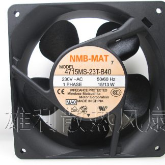 Original for NMB Minebea 4715MS-23T-B40 12CM 230V 15/13W inverter cooling fan