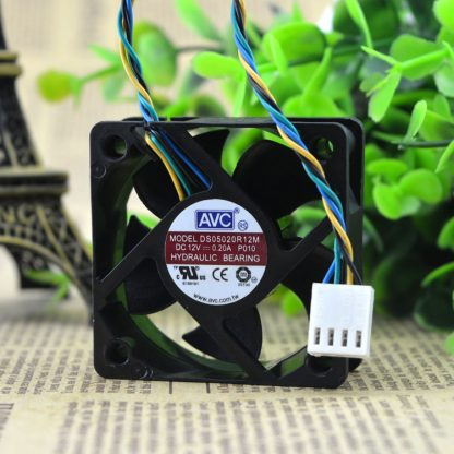 Free Delivery. 5020 DS05020R12M P010 12 v 0.20 A four-wire cooling fans