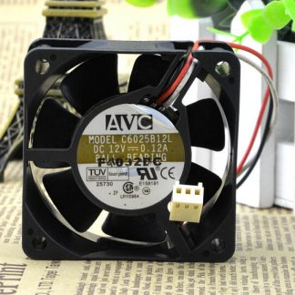 Wholesale: post AVC 60*60*25 C6025B12L 12V 0.12A package 6CM CPU three pin fan