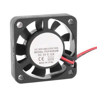GTFS-40mm x 10mm 0.12A 2Pin 5V DC Brushless Sleeve Bearing Cooling Fan