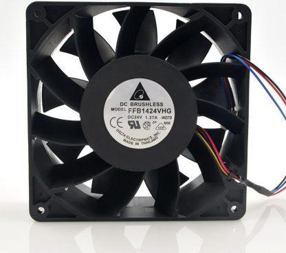 DELTA FFB1424VHG 14050 140x140x50mm 14CM DC 24V 1.37A 3 lines Computer Case Industrial Cooling Fan
