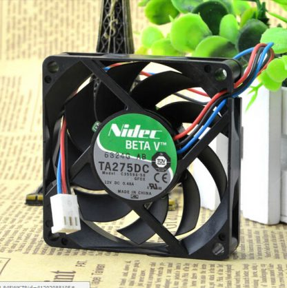 Wholesale:NIDEC C35598-58 GFOX 12V 0.48A package 7CM 7015 70*70*15 3 line fan