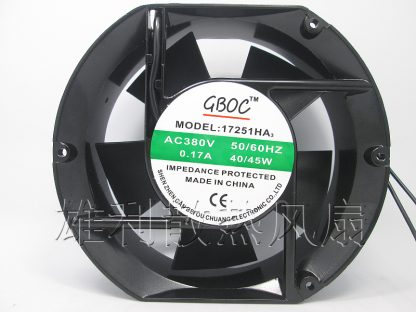 Free Delivery.17251HA3 380V 0.17A 40 / 45W 172 * 150 * 51MM AC cooling fan