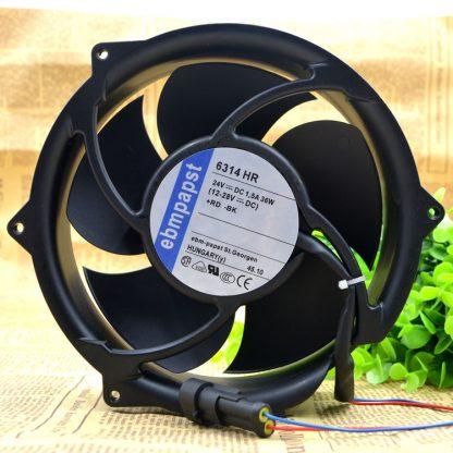 Genuine Germany ebmpapst 17CM 24V 36W 6314 HR ACS510 Inverter Fan