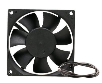 Ac 2V large air volume EC8025HB 8025 7W double ball 8CM exhaust fan