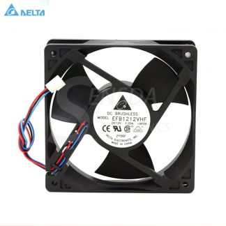 For Delta Electronics EFB1212VHF -BF00 120mm 12cm DC12V 1.20A 3-wire server inverter axial cooling fans