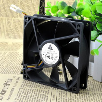 Free Delivery. AFC0912D 12 v 0.46 A 9225 four-wire PWM cooling fans