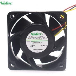 Nidec H60T12BLA7-52 6025 12V 0.21A dual ball case cooling fan 60mm