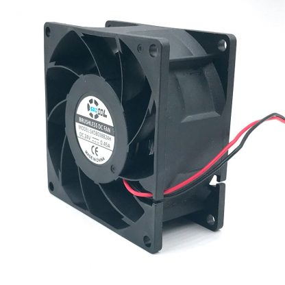 SXDOOL SXD8038B24H 80*80*38mm DC 24V brushless cooling fan 0.45A 6000RPM 83.5CFM 57DBA for server inverter case