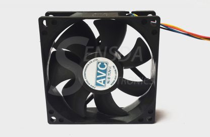 Wholesale AVC DS08025T12UPFAF 8025 80mm 8cm DC 12V 0.7A PWM fan speed control of wind capacity cooling fans