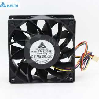 Delta FFC1212DE -S96P 12CM 1mm 138 DC 12V 2.4A industrial server inverter power supply cooling fans