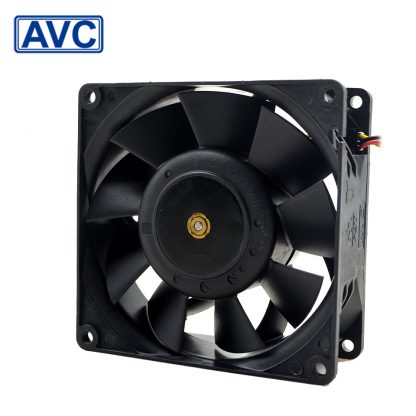 AVC 92*92*38 2B09238B48U 9238 48V 0.7A 4-wire radiator fan with Terminal converter