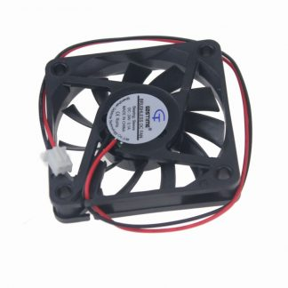 1 Pieces Gdstime 2Pin DC 24V 24 Volt 6cm 60x60x10mm Brushless Cooler Cooling Fan 60mm x 10mm