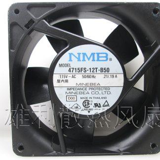Free delivery. Original 4715FS-12T-B50 12038 AC115V 12CM AC cooling fan