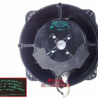 ebm-papst W1G 8-BA73-12 DC 48V 96W 250x250x80mm Server Round fan