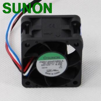 Sunon fan PMD1204QBX-A 4028 4cm 40mm DC12V 8.0W server inverter cooling fan