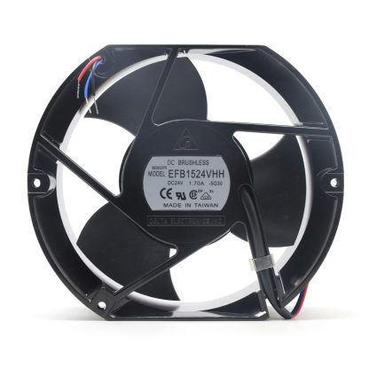 Delta EFB1524VHH DC24V 1.7A 172*150*51MM 17250 17cm high speed axial cooling fan