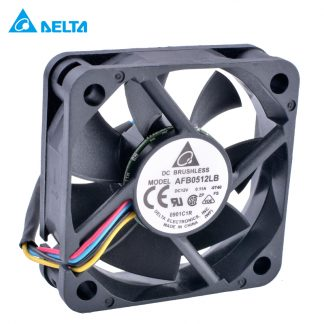DELTA AFB0512LB 5015 50x50x15mm 50mm fan 12V 0.11A Double ball bearing 4 wire 4pin mute cooling fan