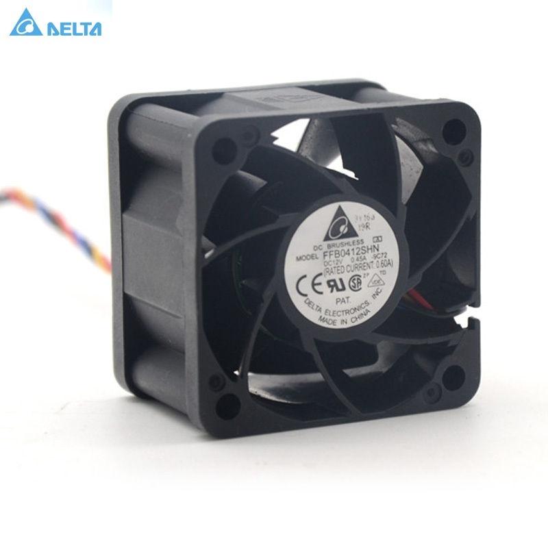 Delta FFB0412SHN 4028 40MM 1U 2U server Cooling fan 12V 0 45A pwm