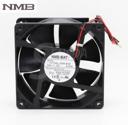 NMB 4715KL-05W-B30 12038 12cm 120mm DC 24V 0.4A 2 line server inverter axial cooling fans