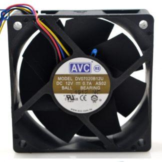 AVC DV07020B12U 7020 70mm 7cm DC 12V 0.7A dual ball bearing fan server inverter cooling fan