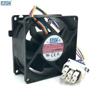 AVC DAZB0838RCM-PG01 13.6V 0.17A ball bearing fan