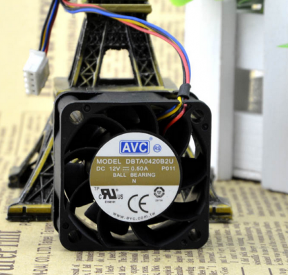 DBTA04B2U AVC 40 12V 0.50A 4cm 4wire