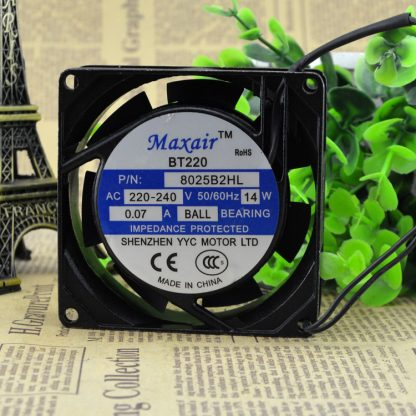 Free Delivery. BT8025B2HL axial flow fan ac cooling fan 8025 b2hl ball bearing (220 v)