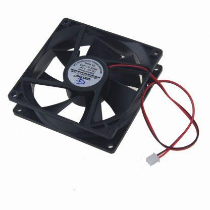 Gdstime 200 pcs 92x92x25mm DC Fan 12V 2Pin Computer PC Case Cooling Fan 92mm x 25mm Cooler 9225