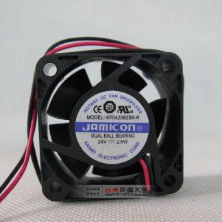 4020 4CM 24V 2.6W Double Ball Inverter Cooling Fan KF0420B2SR-R