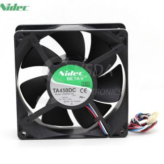ADDA AD1212HB-F93GP 1mm 38mm New Case Fan 12V 1.95A 0CFM PC Cooling 3pin Metal 4 Screws Ball Bg