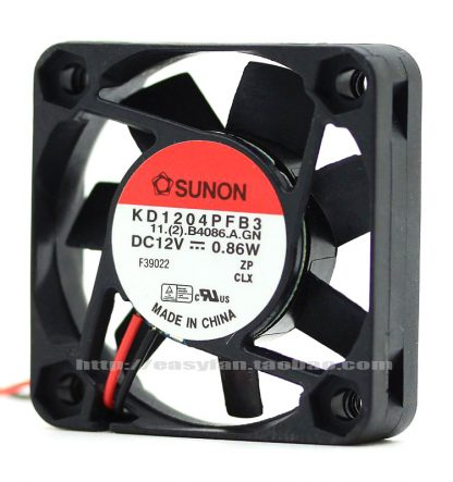 brand new SUNON KD14PFB3 4cm 4010 12V 0.86W cooling fan