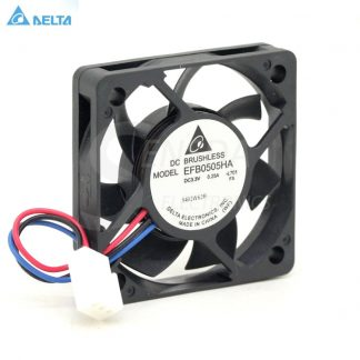 Wholesale DELTA EFB0505HA 5010 50mm 5cm DC 3.3V 0.25A speed server inverter axial cooling fan