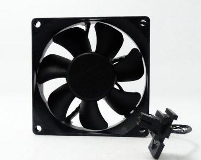 Wholesale Delta 8025 DC 12V 0.50A 8CM QFR0812SH 4-lines Large Air Temperature Control Server Chassis Cooling Fan