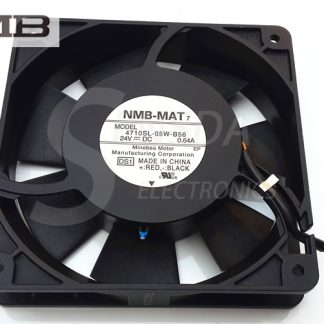 NMB 4710SL-05W-B56 125 24V 0.64A 12cm 1mm aluminum frame high tempreture axial industrial cooling fan