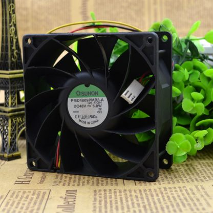 Free Delivery. PMD4809PMB1 FOO signal - A double ball bearing fan 3 line 48 v 11.5 W