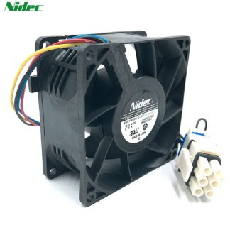 Refrigerator WR60X10356 cooling fan Brand new Nidec V80E14MS2A3-57A611 13.6V 8038 waterproof cooler