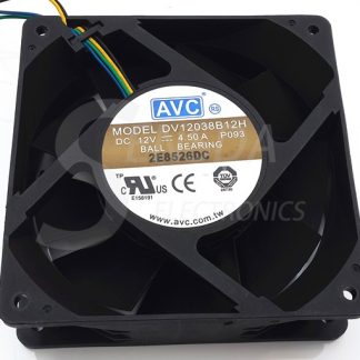 Original AVC DV138B12H 138 1mm 12cm 12V 4.5A high speed server inverter axial cooling fans cooler