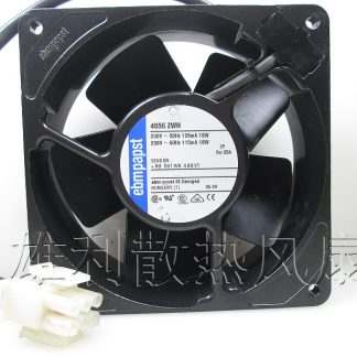 Original EBM Papst 4656 ZWH 230V AC 120*120*38MM 12cm full metal temperature cooling fan