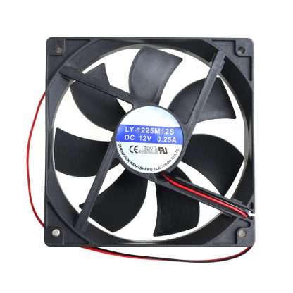 12cm High Speed Computer DC 12V 2Pin PC Case System Hydraulic Cooling Fan 12025